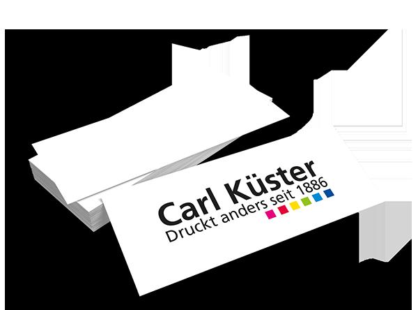 Druckerei Hannover | Mini-Visitenkarten drucken