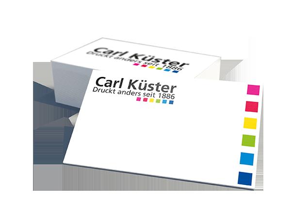 Visitenkarten Drucken Carl Küster Druckerei Hannover